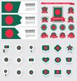 SET bangladesh vector image