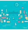 Sketch City vector image vector image