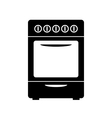 Stove icon vector image vector image
