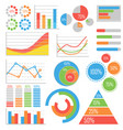 business and statistics vector image