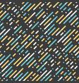parallel diagonal overlapping color lines pattern vector image
