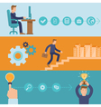 infographic design elements and icons vector image