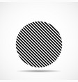 abstract circle lines geometric shape vector image vector image