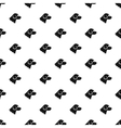 Beagle dog pattern simple style vector image