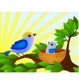 Bird family vector | Price: 1 Credit (USD $1)