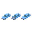 car isometric car repair vector image vector image