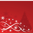 Christmas background illustration vector image vector image