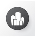 city icon symbol premium quality isolated vector image vector image