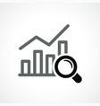 graph design icon vector image