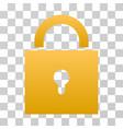 lock gradient icon vector image