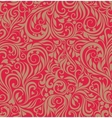 Seamless festive floral background vector image vector image