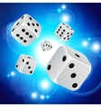 Abstract casino background vector image