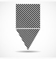 abstract triangle and square lines geometric vector image vector image