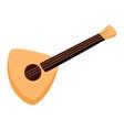 balalaika guitar vector image vector image