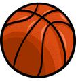 basketball ball cartoon clip art vector image vector image