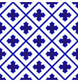 cute ceramic pattern vector image vector image