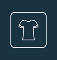 high bias roll icon line symbol premium quality vector image