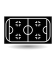 icon playground ice hockey vector image vector image