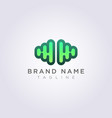 modern brain logo icon design vector image