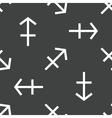 sagittarius pattern vector image vector image