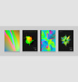 stock color covers set paint vector image