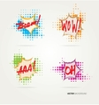 Collection of sound effects vector image