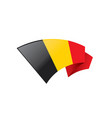flag of belgium vector image