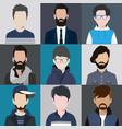 avatar men vector image vector image