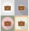 business and finance flat icons 16 vector image