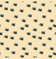 cute seamless pattern with cartoon crows vector image vector image