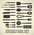Kitchen tools set vector | Price: 1 Credit (USD $1)