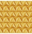 modern geometric triangle gold background vector image vector image