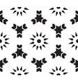 moroccan islamic style geometric tile pattern vector image vector image