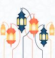 Ramadan Lantern vector image vector image