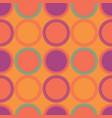 vintage circular pattern vector image vector image