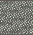 1950s arrow pattern background vector image vector image
