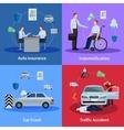 Auto Insurance Concept vector image vector image