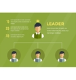 Business Structure Infographic Tree infographic vector image vector image