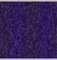 knit texture melange purple color seamless vector image