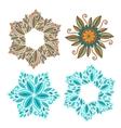 Set of decorative frame Modern elements vector image