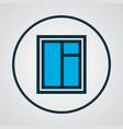 window icon colored line symbol premium quality vector image