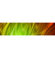 abstract shiny colorful waves banner design vector image vector image