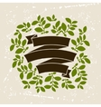 Background of stylized leaves for greeting cards vector image vector image