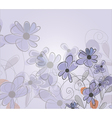 Beautiful abstract floral background vector image
