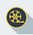 cinema type icon vector image vector image