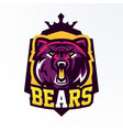 colorful logo badge sticker emblem a vector image