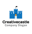 Creative Design Castle vector image