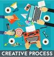 Creative Process Concept Banner vector image vector image