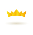 Crown king logo symbol icon vector image vector image
