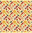 firefiters pattern vector image vector image